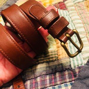 Vintage Authentic Leather Coach Belt EUC